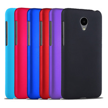 "2015 New Multi Colors Luxury Rubberized Matte Plastic Hard Case Cover For Meizu M2 mini Meilan 2 5.0"" Cell Phone Cover Cases"