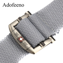 Adofeeno Military Tactical Canvas Belt Casual Men's Belts Aaccessories Military Equipment Cinto Masculino Cinturon Men(China)