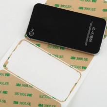 5pcs Full Size 3M Tape LCD Digitizer Adhesive Glue Sticker For iPod Touch 4th Wholesale(China)