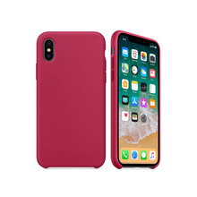 For iPhone X 8 7 Plus New Colors Silicone Silicon Case  Official Design Original Elegant Full Protection Phone Cover with logo