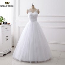 Buy 2018 Wedding Gowns Cheap White Ivory Bride Dress Ball Gown Plus Size Wedding Dresses Real Photo Vestido De Noiva for $76.99 in AliExpress store