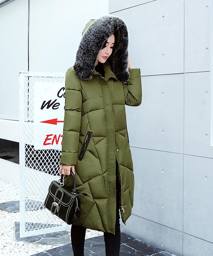 2017 Winter Women Coat Thicken Warm Long Jacket women coat girls long slim big coat jacket Down Parka+29 (1)