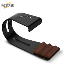 KISSCASE Desk Charging Dock For Smart Watch i watch Mobile Phone Holder For iPhone Cellphone Universal Tablet Aluminium Stand(China)