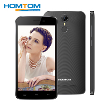 Homtom HT27 5.5 inch Smartphone Android 6.0 MT6580 Quad Core 1GB RAM 8GB ROM 1280x720 3G 8MP 3000mAh Fingerprint HD China Phone(China)
