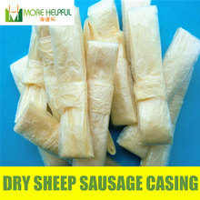 Top sellers 26 meter Dry sheep casing diameter 18mm-20mm 10pc/bag natural sheep Sausage cover,Sausage skin, free shipping(China)