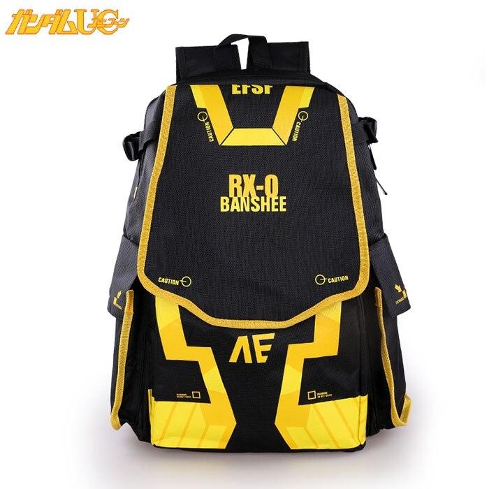 Free shipping GUNDAM Fashion and leisure man woman bags canvas Backpacks High capacity Japanese Korean version schoolbag<br>