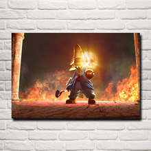 Final Fantasy Vivi Ornitier Video Games Art Silk Poster Prints Home Decor Painting 12x18 16X24 20x30 24x36 Inches Free Shipping