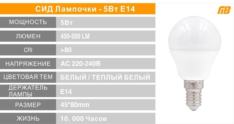 E14 E27 LED Bulb Lamp Series_11