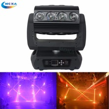 Factory Price Zoom Led Moving head Light 16*25w Auto Sound Control 18 30 82 DMX Channels Bar Party Event Show Equipment Light