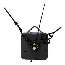 2017 High Quality New Quartz Wall Clock Movement Mechanism Black Hands DIY Repair Parts Kit WN0410