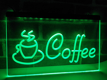 LB433- Coffee Cup  Cappuccino Cafe   LED Neon Light Sign     home decor  crafts