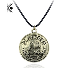 Station 9 3/4 Cool Pendant Necklace Fashion Gift Movie Jewelry Wholesale And Retail Drop Shipping Direct Manufacturers(China)