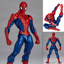 FIGMA Series NO.002 Revoltech Spider Man With Bracket PVC Action Figure Collectible Model Toy 15cm