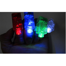 2017 New Arrival Led Dance 20pcs/lot Flash Led Finger Light Laser Ring For Party Chrismas Night Lights,flashing Children Toy(China)