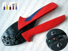 Insulated Terminals Crimping Tools 0.25-2.5mm2 wire connector crimper pliers L-02C(China)