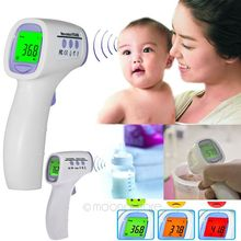 2016 Excellent New and fashion 8808 contactless test Digital Infrared Thermometer Baby Adult Temperature Measurement Device(China)