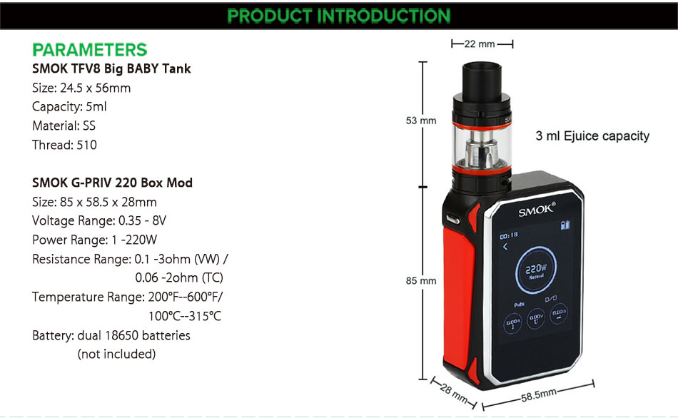 Kit Touch Vape 5ml 4