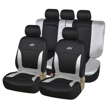 AUTOYOUTH Full Set Car Seat Covers Airbag Compatible Universal Fit Car Seat Protectors Classic Car Accessories Car-Styling