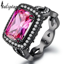 Iutopian Brand 2017 Amazing Luxurious Anniversary Gift Rings With Top Quality Cubic Zirconia Statement Not Fade #DD041