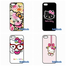 Cute Hello Kitty Minnie Cartoon Cat Phone Cases Cover For Samsung Galaxy Note 2 3 4 5 7 S S2 S3 S4 S5 MINI S6 S7 edge(China)
