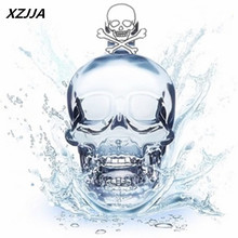 XZJJA high quality fashion  Crystal Skull Head Vodka Shot Glass Cup Search Home Bar Glass Cup Mug Beer Wine Glass (Transparent)