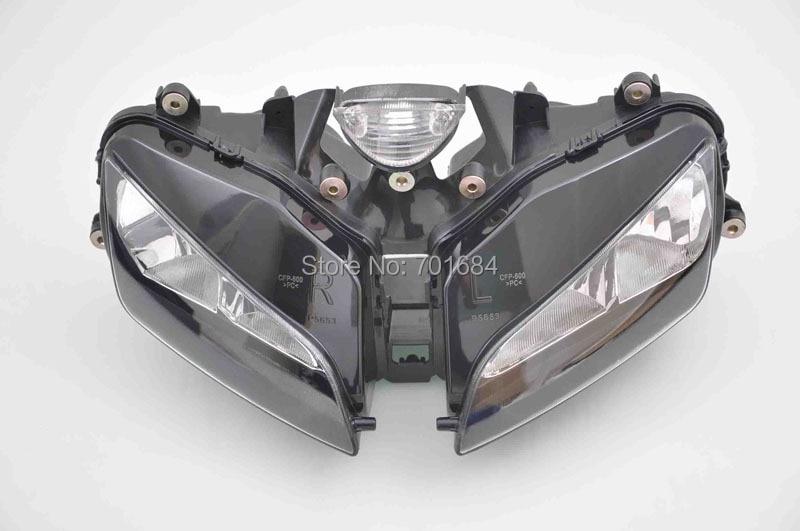 Motorcycle Headlight Assembly Kit For 03 04 05 06 HONDA CBR600RR CBR 600RR  [DD01]<br><br>Aliexpress