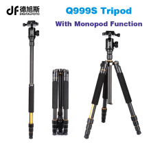 Q999S Portable travel 6KG bear  dslr monopod stand professional digital camera tripod for slr video tripodes para reflex