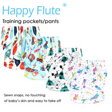 HappyFlute OS Training Pants & Pocket Diaper for Baby, S M and L adjustable,waterproof and breathable(China)