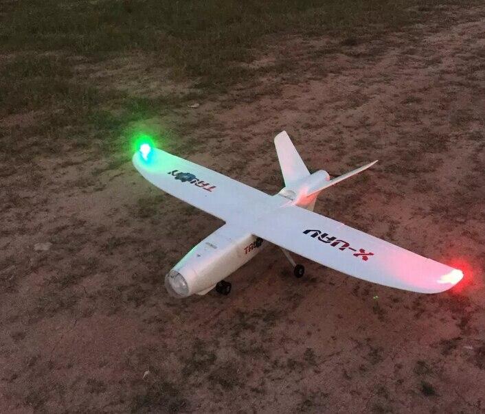 burst bright night lights LED navigation lights for rc fixed-wing UAV blue / red<br><br>Aliexpress