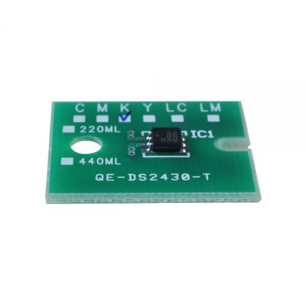 Permanent Roland XJ-640 / XJ-740 ECO Solvent 6pcs/set CMYKLCLM Chips <br>