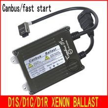 FREE SHIPPING 12V-24V High Quality D1 Canbus and fast start Ballast For D1C D1S D1R HID Light Bulbs 35W Xenon Ballast(China)