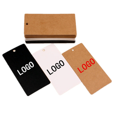 custom labels hang tags 300g/sqm paper clothing tag without lamination suitable for writing words 1000pcs/lot