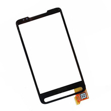 For HTC HD2 T8585 Plug In Version New Black Digitizer Touch Screen Panel Sensor Lens Glass Replacement 100% Test Free Ship