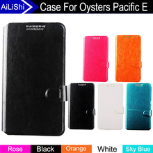 AiLiShi Factory Direct! Case For Oysters Pacific E Top Quality Flip Fashion Leather Case New Exclusive 100% Special Phone Cover(China)
