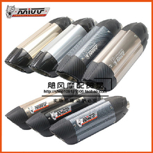 mivv AR austin racing SC project akrapovic muffler silencer cbr500 TMAX500 CBR300 500cc escape moto exhaust pipe accessories