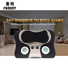 3D kneading Massage Cushion Multifunction Auto Massage Cervical Lumbar Leg Neck Heating Body Massager shaking massage