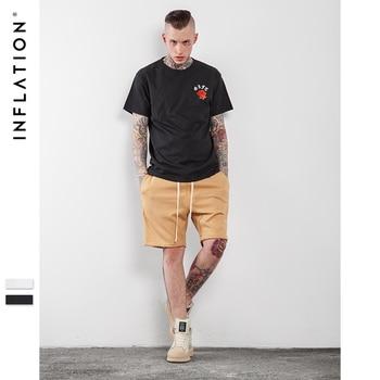 INF Hommes T-shirt D'été 2017 Derniers t-shirts Streetwear Urbain t chemises Pour Hommes Graffiti Impression Hommes de Mode t chemises