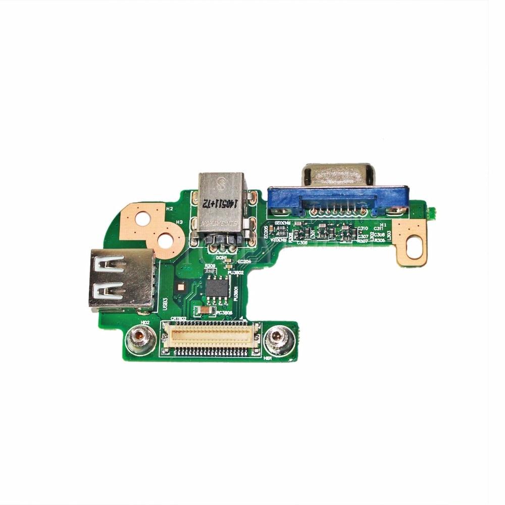 For Dell Inspiron V3550 N5110 DQ15DN15 CRT DC Power Jack VGA USB Board