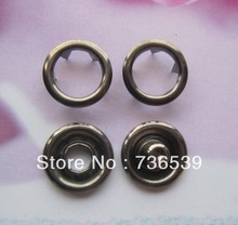 Free Shipping high quality 11mm ring Prong Snap button(China)