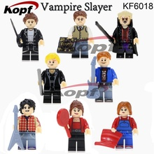 Super Heroes Angel Spike Willow Corderlia Buffy the Vampire Slayer Series Building Blocks Collection Toys for children KF6018(China)