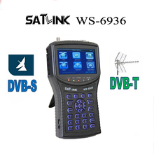 [Genuine] Satlink WS-6936 DVB-T&DVB-S Combo Meter with Spectrum Meter Satlink 6936 ws6936 meter 6936 finder free shipping