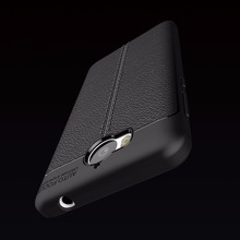 Buy Soft TPU Leather Carbon Fiber Cover Huawei Y6 2017 Case Fundas Anti-Knock Shockproof Armor Cover Huawei Y5 2017 Case for $2.99 in AliExpress store