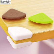 Mambobaby 4Pcs/set Children Safety Table Desk Protection Cover Baby Safe Crash Corner Guards Pads Table Corner Cover New sale