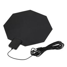 TV HD Digital Indoor Amplified TV Antenna Long Range Amplified Indoor HDTV Antenna VHF UHF Digital Analog Flat Antennas