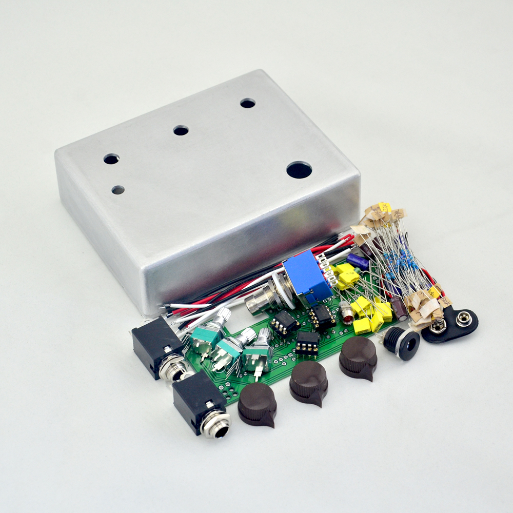 DIY Klon Centaure Overdrive Metal Pedal Effect kit pre-drilled  Effect Pedal With 1590BB  Wholesale Price free shipping<br>