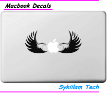 Cartoon Bald Eagle Sticker for Apple Macbook Skin Air 11 13 Pro 13 15 17 Retina Laptop Car Wall Vinyl Logo Decal