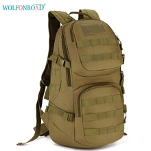 WOLFONROAD 35L Outdoor Climbing Bags Military Molle Backpack Men Hiking Backpack Tactical Bags Sport Cycling Packs L-SHZ-07