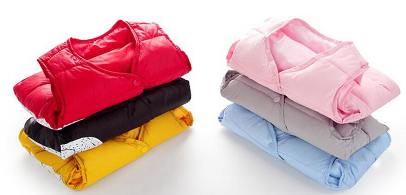CROAL CHERIE Cotton Baby Girls Boys Winter Vest For Kids 2018 Kawaii Elephant Printing Waistcoat Children Boys Clothes 80-130cm (4)