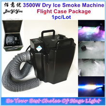 3500w Dry Ice Fog Machine Stage Effect Dry Ice Machine Low Ground Smoke Machine For DJ Party Event With 3m Hose Flight Case Pack(China)