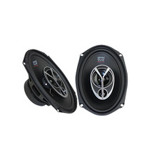 6X9 Coaxial Car Horns 100W Good Sound Quality Mid-Bass Woofer With Dome Tweeter Modified Stereo Speakers(China)